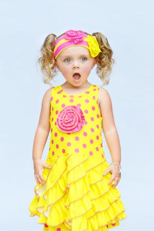Summer Bliss Rosette Dress & Shorties