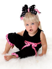 Hot Pink Ribbon Set